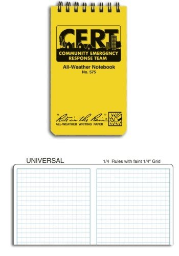Rite in the Rain CERT Pocket Spiral Notebook [Office Product]