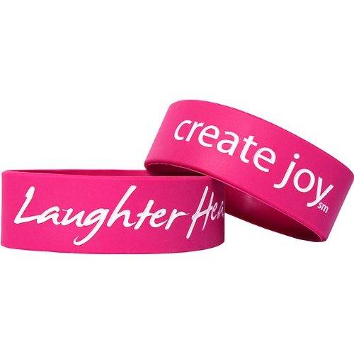 Laughter Heals Bracelet - Fuchsia [Misc.]