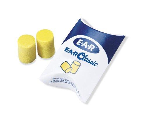 3M E-A-R Classic Earplug, Yellow, 200-Pair (310-1001) [Tools & Home Improvement]