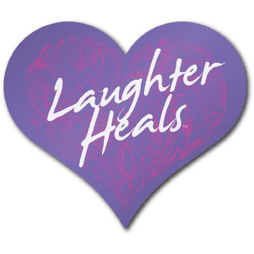Laughter Heals Bumper Magnet - Purple [Misc.]