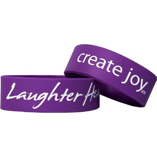 Laughter Heals Bracelet - Purple [Misc.]