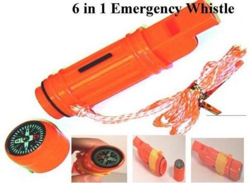 SE 5 in 1 Survival Whistle [Misc.]