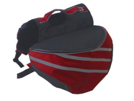 Pet Life Everest Backpack in Red - Medium [Misc.]