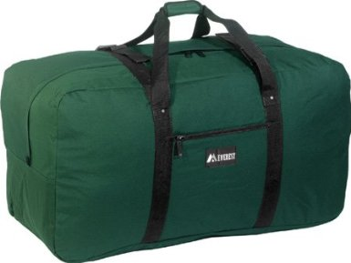 "Everest 36"" Cargo Duffel Bag Black [Misc.]"