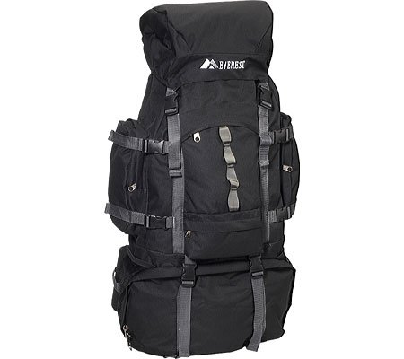 "28"" Hiking Backpack Color: Black"