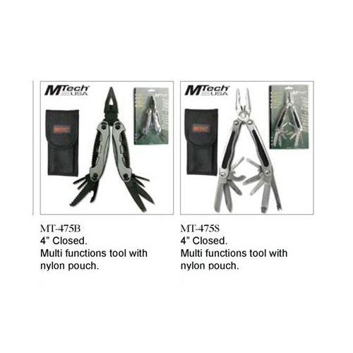 Mtech USA MT-475S Multi-Tool Knife (4-Inch Closed) [Sports]