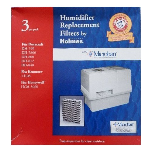 Humidifier Replacement Filter by Holmes with Microban -- Fits Duracraft DH-79...