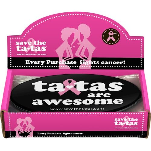ta-tas are Awesome Bumper Magnet - Black - 48 pack [Misc.]