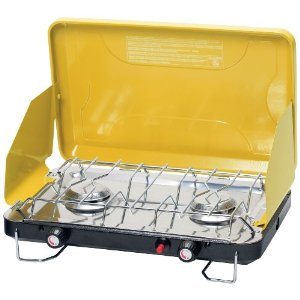Stansport High Output Propane Stove with Piezo Igniter, Citron Yellow [Sports]