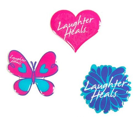 Laughter Heals Sticker Pack -3 [Office Product]