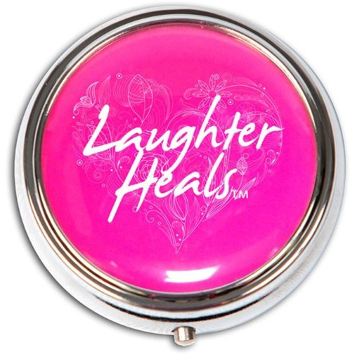 Laughter Heals Pill Box Health And Beauty Breast