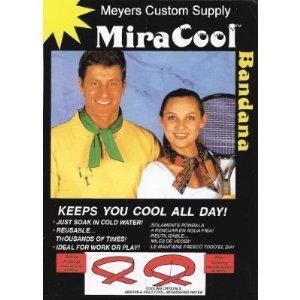 MIRACOOL COOLING BANDANA - KHAKI- 12 PACK [Misc.]
