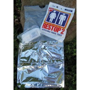 Restop 2 Disposable Human Waste Bags, 24 Bags [Misc.]