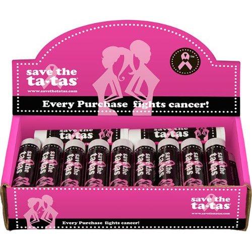 Save the ta-tas Lipbalm - Peppermint 22Pk [Health and Beauty]