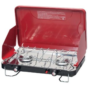 Stansport High Output Propane Stove with Piezo Igniter, Candy Apple Red [Sports]