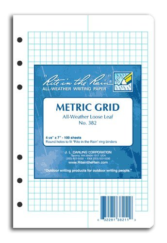 Rite in the Rain Loose Leaf Paper Metric #382 [Office Product]