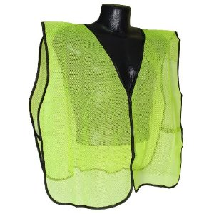 Radians Radwear Safety Vest, Mesh, Hi-Viz Green [Tools & Home Improvement]