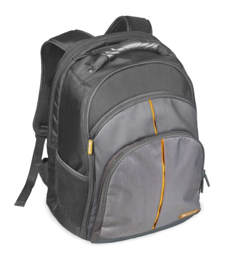 Microsoft 39303 Laptop Backpack - Everest (Black/Gray) [Personal Computers]