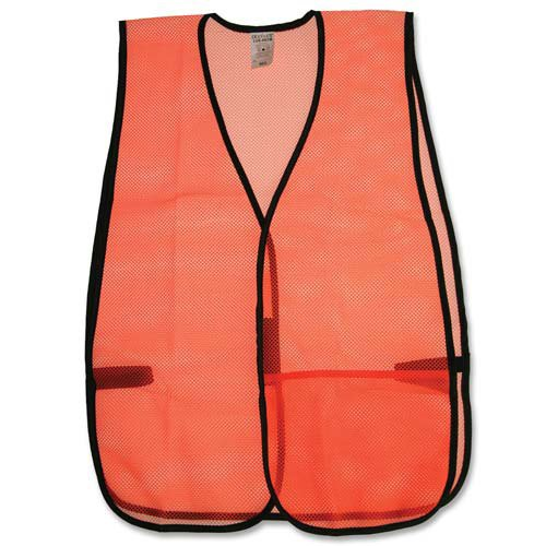 R3 Safety 81006 Pocketed Vest, Mesh, Lime [Office Product]