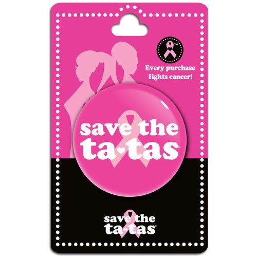 save the ta-tas Classic Button - Pink [Misc.]