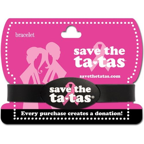 save the ta-tas Bracelet - Black [Misc.]