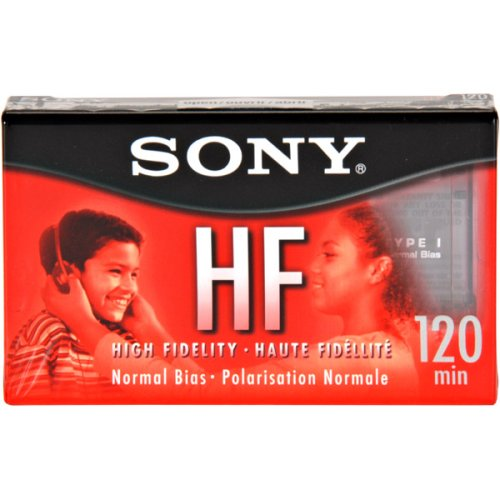 Sony C120HFR Cassette 120 Minute Normal Bias [Electronics]