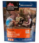 Italian Style Pepper Steak - Case (6 Pouches)