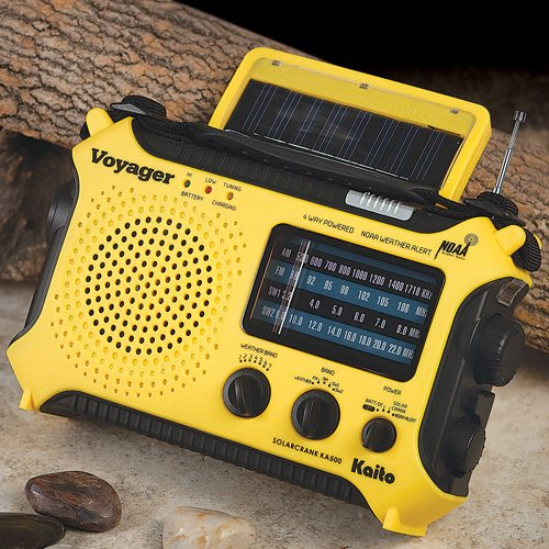 Kaito Electronics Inc. KA500YEL Voyager Emergency Radio- Yellow [Electronics]