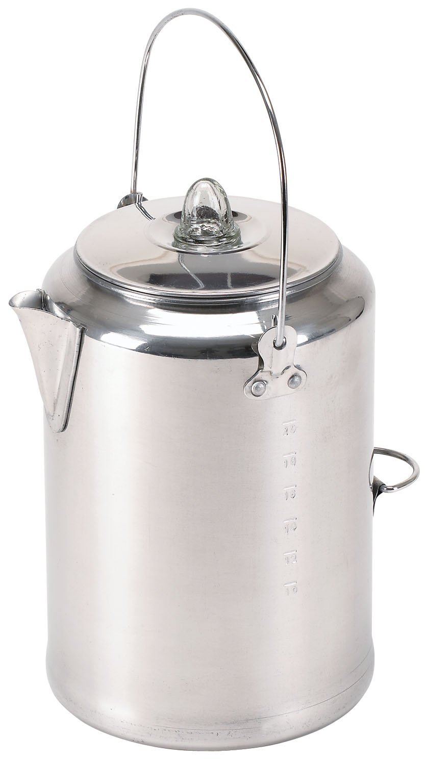 Stansport Aluminum 20 Cup Percolator Coffee Pot [Kitchen]
