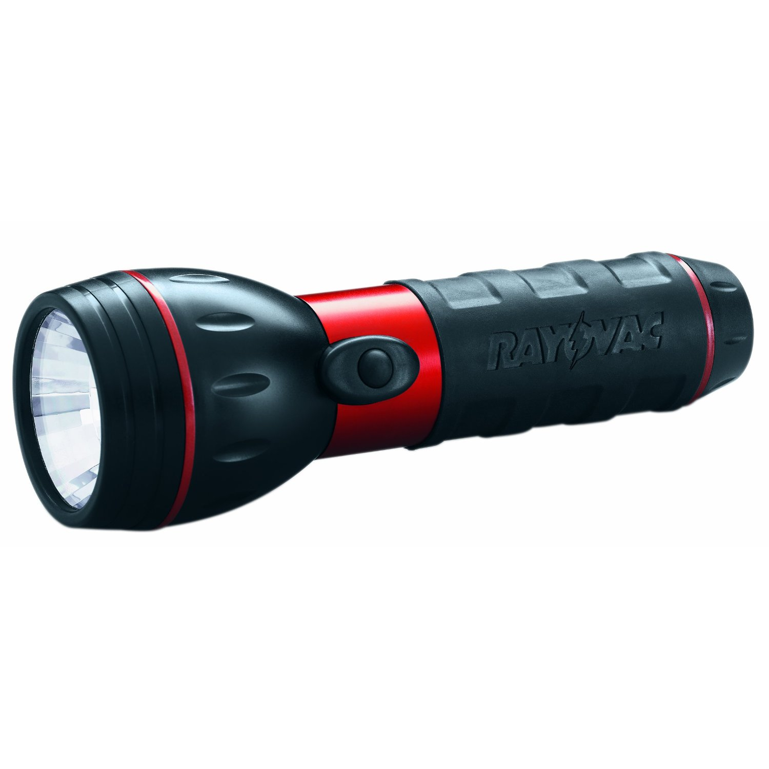 Rayovac 2D-B RB Economy Flashlight, Red and Black [Tools & Home Improvement]