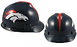 Denver Broncos - MSA - NFL Team Logo Hard Hat