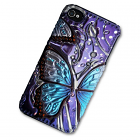 iPhone 4/4S Case with 3D Blue Butterfly