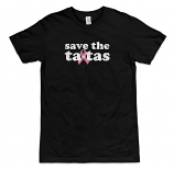 Save the ta-tas Men's Tee - Black