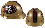 San Francisco 49'ers - MSA - NFL Team Logo Hard Hat