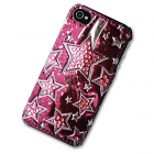 iPhone 4/4S Case with 3D Stars