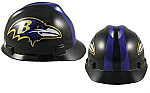 Baltimore Ravens - MSA - NFL Team Logo Hard Hat