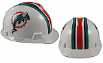Miami Dolphins - MSA - NFL Team Logo Hard Hat