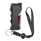 SABRE Red Stop Strap Pepper Spray, Black
