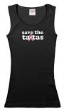 Save the ta-tas - Tank - Black