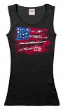 Save the ta-tas Flag - Tank - Black