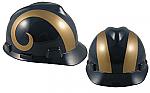 St. Louis Rams - MSA - NFL Team Logo Hard Hat