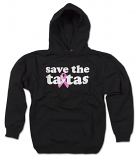 save the ta-tas - Unisex Pullover Sweatshirt - Black