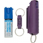 Sabre Pepper Spray 75114 ORMD Hard Case Unit Self Defense Spray with Practice Canister