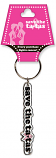 Save the Ta-Tas In-line Keychain - White