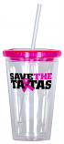 Save the ta-tas Tumbler
