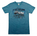 Car Wash Men's Tee - Cadet Blue -2XL