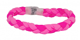 Team Twist - Braided Bracelet - Pink