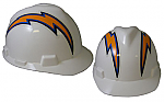 San Diego Chargers - MSA - NFL Team Logo Hard Hat