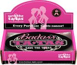 Badass Ta-Tas Bumper Magnet - Black - 48 pack
