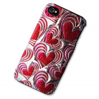 iPhone 4/4S Case with 3D Heart Beat